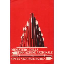 Pagella del periodo pre fascista del comune di Genova