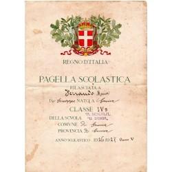 1926-1927, anno V Era Fascista