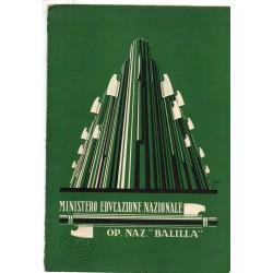 PAGELLA SCOLASTICA REGIME FASCISTA OPERA NAZIONALE BALILLA ONB ANNO X 1932 SAN GIORGIO PISA GASSINO ECC