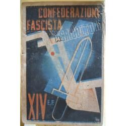 TESSERA DELLA CONFEDERAZIONE FASCISTA DEGLI AGRICOLTORI,  ANNO XIV