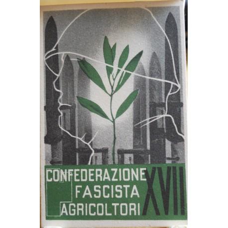 TESSERA DELLA CONFEDERAZIONE FASCISTA DEGLI AGRICOLTORI, ANNO XVII