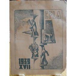 TESSERA DELLA CONFEDERAZIONE NAZIONALE FASCISTA DEGLI AGRICOLTORI, FIANO VARISELLA, UNIONE DI TORINO 1939